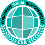 csr badge logo